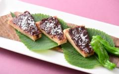 高野豆腐の八丁焼