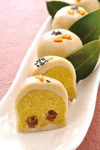 蕎麦まんじゅう(長芋入り)