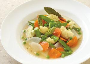 春野菜のヴァプール(スープ蒸し)