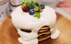 マクロビ♡ココナッツパンケーキ