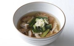 車麩と胡瓜のスープ