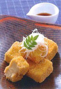 胡麻豆腐のフライ