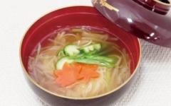 ソーメンスープ