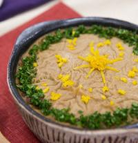 里芋と白菜のグラタン味噌仕立て