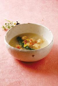 菜の花の淡雪スープ