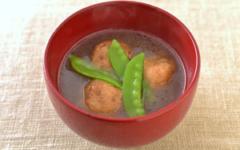 筍団子のスープ