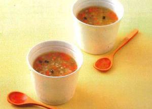 秋のきんぴらスープ